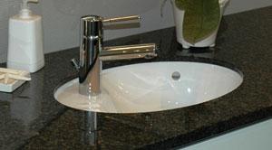 porcelænsvask til underlimning